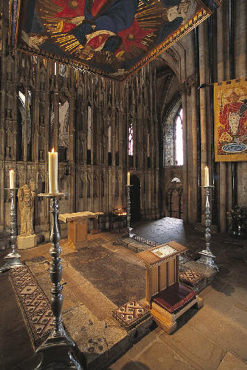 St Cuthbert Shrine